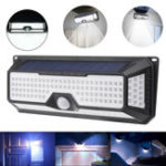 New Solar Power 180 LED Wireless PIR Motion Sensor Light Outdoor Wall Yard Garden Pathway Lamp