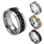 New Rotating Chain Finger Rings