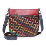 New Women Vintage Genuine Leather Crossbody Bag