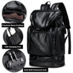 New Men Leisure Travel Multifunctional Multi-Carry Backpack