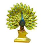New Creative Peacock Ornament Resin Figurine Statue Craft Home Decorations Wedding Gift