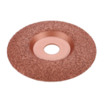 New Drillpro Tungsten Carbide Shaping Dish 125mm Diameter 22mm Bore Wood Shaping Disc Wood Carving Disc Angle Grinder Disc