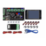 New TF3.2 LCD Display Screen + MKS GEN V1.4 Mainboard Motherboard +MOS MINI + 5x A4988 Driver + 6x Limit Switch Kit For 3D Printer