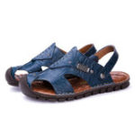 New Cowhide Soft Soles Slip Resistant Outdoor Sandals