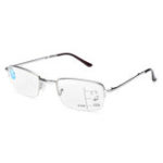 New Half  Frame Progressive Multi-focus Reading Glasses Foldable