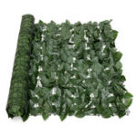 New Expanding 1*3M Artificial Lvy Leaf Wall Fence Green Garden Screen Hedge Decorations