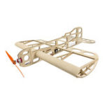 New Dancing Wings Hobby Geebee R0104 600mm Wingspan Balsa Wood Aircraft RC Airplane Kit