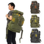 New 100L Women Men Waterproof Travel Backpack Outdoor Camping Climbing Hiking Bag