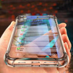 New Bakeey Air Bag Shockproof Transparent Soft TPU Protective Case for SHARP AQUOS S3