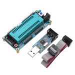 New AVR ATMEGA16 Minimum System Development Board ATmega32 + USB ISP USBasp Programmer with Download Cable for ATMEL