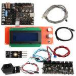 New EinsyRambo 1.1A Mainboard + Wire Kit + 2004 LCD Display + Power Panic + Filament Sensor + MMU2 Control Board + PINDA V2 Sensor For Prusa i3 MK3 3D Printer