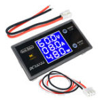 New Digital DC12 100V 10A 250W Tester LCD Digital Display Voltage Current Power Meter Voltmeter Ammeter Amp Detector