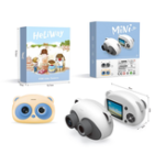 New Heliway Cartoon Panda Digital Camera 1080P Normal Card Version Children Photograph Early Education Toys