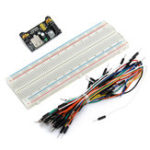 New 65PCS Jumper Cable+ MB102 Power Supply Module 3.3V 5V+Breadboard Board 830 Point