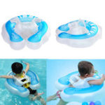 New Baby Swimming Float Ring Kids Inflatable Swim Ring Summer Safty Swimming Trainer Toddler Pool Fun Play