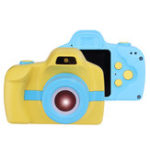 New Y2 2MP 1.54 Inch IPS Touch Screen Mini Children Kids Rechargeable Camera with Flash Light