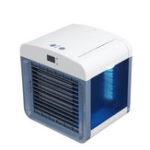 New Portable USB Mini Air Cooler Cool Cooling Fan Purify Humidifier W/ Time Display