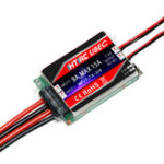 New Htirc SBEC UBEC 8A DIDO Brushless ESC Dual Input Dual Output 2S 3S 4S 5S for RC Racing Drone Airplane Aircraft