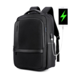 New ARCTIC HUNTER B00120 18 Inch Laptop Bag Mens USB Charging Waterproof Backpacks Multifunction Large Capacity Travel Bagpack Men's Shoulder Bag School Bag