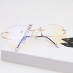 New Radiation Protection Anti-fatigue Clear Lens Glasses