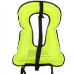 New Manual Inflatable Life Jacket Lifebuoy Water Sports Equipment Clothes Vest