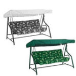 New 84″x48″x7.1″ Garden Swing Chair Canopy Spare Patio Cover Waterproof Replacement