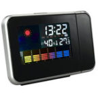 New Digital LCD Color Screen Projection Electronic Thermometer Hygrometer Timer