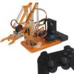 New meArm DIY 4DOF Arduino Smart RC Robot Arm Kit With 9g Servo PS2 Stick