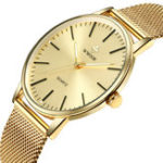 New WWOOR 8832 Casual Style Full Steel Luminous Men Wrist Watch