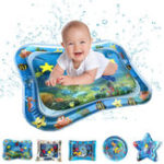 New  PVC Inflatable Swimming Air Mattress Water Cushion Baby Kids Infant Toddlers Tummy Water Play Fun Toys Ice Mat Pad
