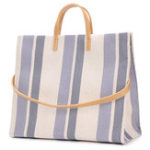 New Women Canvas Stitching Color Tote Handbag