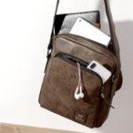 New Men Retro Leisure Crossbody Bag Shoulder Bag
