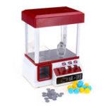 New Carnival Claw Game Doll Machine Mini Arcade Grabber Crane Toys +24 Coins +12 Eggs