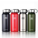 New 1100ml Outdoor Portable Vacuum Insulated Water Bottle Double Walled Stainless Steel Drinking Cup Sports Travel