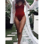 New Women Bikini Cover Up Lace Beach Holiday Maxi Cardigan