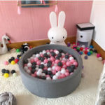 New 100Pcs Soft Children Ocean Ball Baby Kid Pit Toys 5.5cm Ball Game Swim Pool Decorations