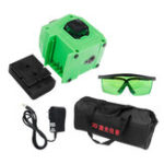 New Portable 12 Lines Laser Level Green Self-Leveling 3D 360° Rotary Measuring Tools