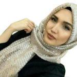 New Women Sequin Arabian Hat Arab Wrap Scarf Turban Hat