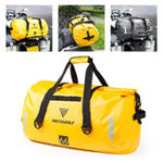 New 90L 66L 40L Motorcycle Luggage Car Waterproof Storage Pack Outdoor Travel Large Capacity Bag