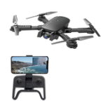 New 1808 WIFI FPV With 4K Wide Angle Camera Optical Flow Altitude Hold Mode Foldable RC Drone Quadcopter RTF