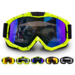 New Universal Motorcycle Cycling Skiing Sport Goggles Outdoor Windproof TPU Anti-shock Breathable