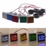 New AC 60-500V 0-100A D18 Square LED Digital Dual Display Voltmeter Ammeter Voltage Gauge Current Meter