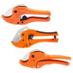 New PVC Plumbing Pipe Cutter Scissors Tool Plastic Hose Ratcheting 20-42mm 1-5/8 Inch