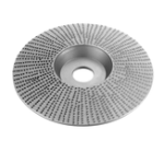 New Drillpro 110mm Extreme Shaping Disc 16mm Bore Tungsten Carbide Wood Carving Disc Grinder Disc for 100 115 Angle Grinder Woodworking