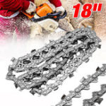 "New Wood Cutting Chainsaw Alloy Saws Chain 74 Link 18"" Bar 0.325""x0.063"" LP Blade"