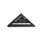 New 7 Inch English Triangle Ruler 17CM 30CM Metric Triangle Ruler Angle Protractor Metal Speed Square Measuring Ruler Metric English Ruler Carpenter Measuring Tools