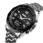 New SKMEI 1464 Military OLED Display Compass Dual Display Watch