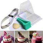 New High Heel Shoe Kit Pan Silicone Fondant Mould Wedding Cake Decorating Template Mold
