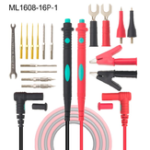 New ML1608-18P-1  Universal Digital Multimeter Probe Test Leads Cable Pin Multi Meter Tester Cable  Elbow Set