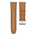 New Kospet 24MM Head Layer Cowhide Silicone Watch Band Strap for Smart Watch Kospet Optimus Pro Optimus Hope Brave Lite